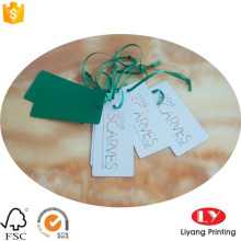 Cheap Custom Clothes Paper Hangtag Printing