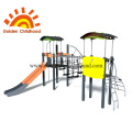 Kids Physical fitness and sport outdoor playground