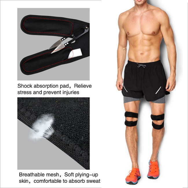shock absorption knee pad