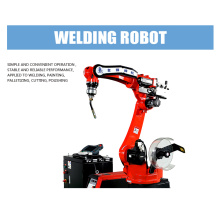 Manufactur standard for Robot Scaffolding Automatic Welding Machine Factory Price 6-axis Welding Robot Motoman MH200 supply to Cook Islands Supplier