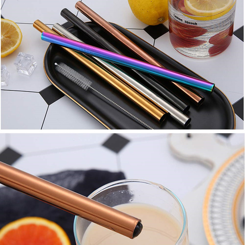 18/8 Stainless Steel Pearl Milk Tea Straw Wholesale