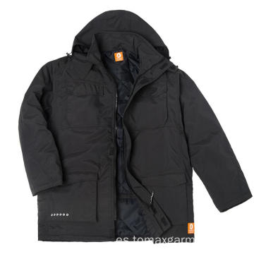 Chaqueta de invierno impermeable y transpirable