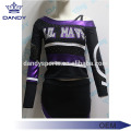 Glitter rhinestone cheerleading uniform for ciwan