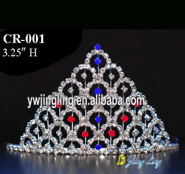 Wholesale Hair Accessories Rhinestone Crowns