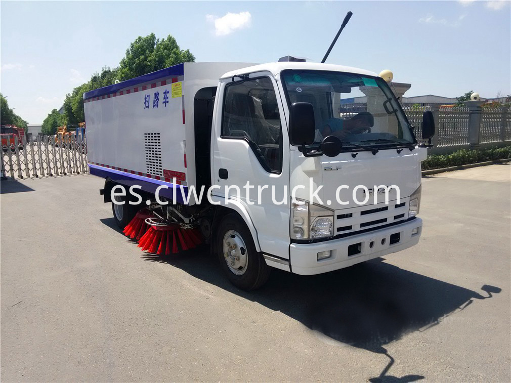 isuzu road sweeper truck 5
