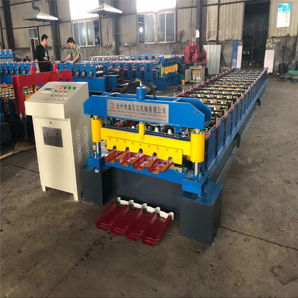 Construction Steel Aluzinc Wall Roof Roll Forming Machine