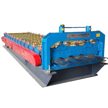 Automatic Galvanized Container Deck Roll Forming Machine