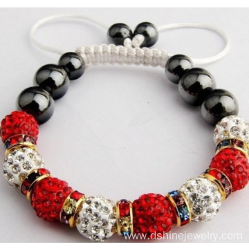 Professional High Quality for Shamballa Beads Bracelet Crystal Clay Beads Bracelet Original Real Shamballa Bracelet supply to Faroe Islands Factory