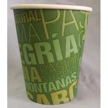 Tasse à café biodégradable en papier kraft jetable