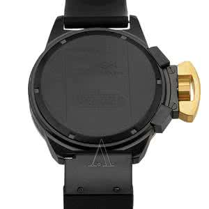 black ion plated watch