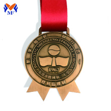 Good Quality for Football Medal Buy personalised award medals online supply to Singapore Suppliers