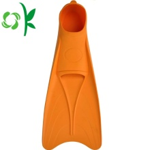 Silicone Swim Fin Diving Gear Flippers Practice Fins
