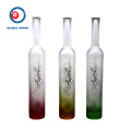 Fruit Vodka Glass Bottle Gradual Color Printing