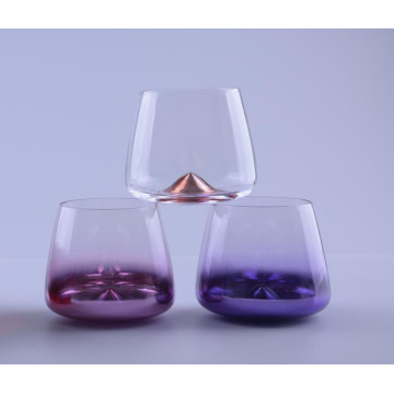 Metallic Colored Decorative Whisky Glass