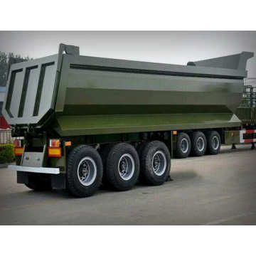 U mode 3 Axle Dump Truck Trailer