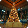 led light metal frame outdoor waterproof christmas tree