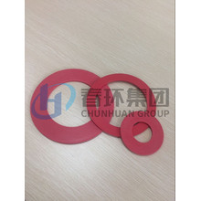 Best Price for for Black PTFE Nylon Gasket RED Color PTFE Filled Gaskets supply to Peru Factory