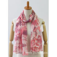 newest colorful long classic printing fashion ladies shawl