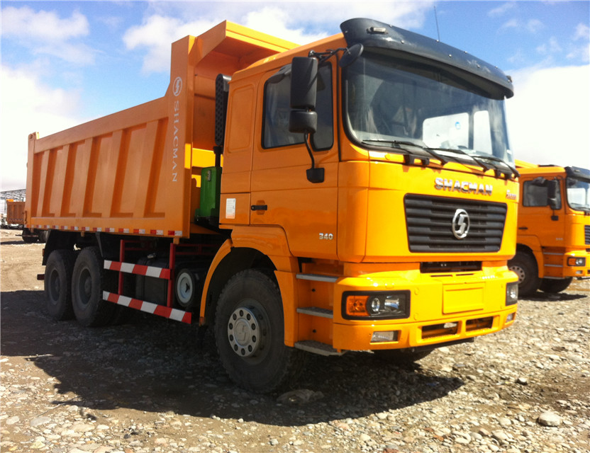 Shacman 6X4 340HP dumper truck with weichai engine shacman dump truck