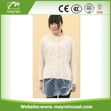 Factory Price Waterproof Disposable PE Smock