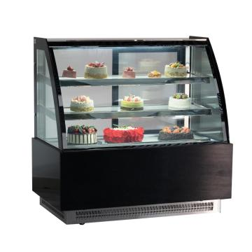 black stainless steel marble refrigerator side by side