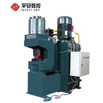 Hydraulic angle iron stamping machine