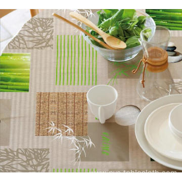 Elegant Tablecloth with Non woven backing York