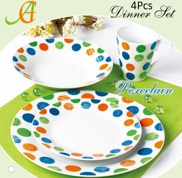 High-Grade Tableware Porcelain Dinnerware