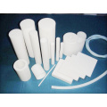 White Virgin PTFE Molded Rod