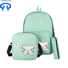 High school student college backpack travel backpack