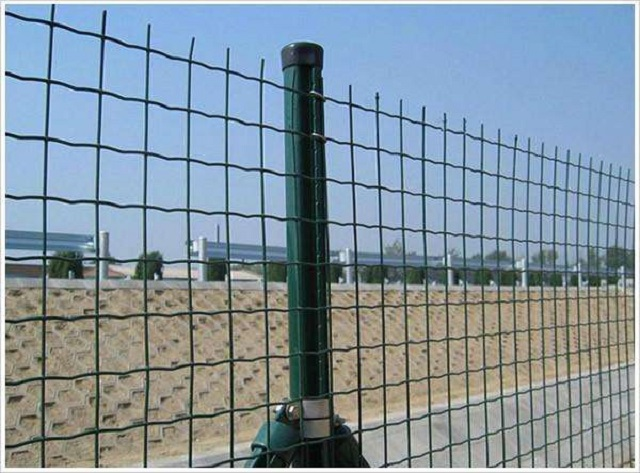 Galvanized Euro Fence