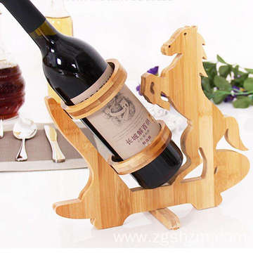 Eco -Frieddly Bamboo Wine Holder