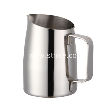 Stainless steel oblique pull cup