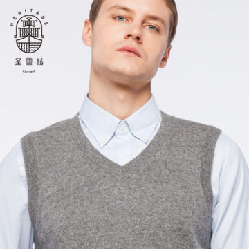 Men's Pure Cashmere Vest