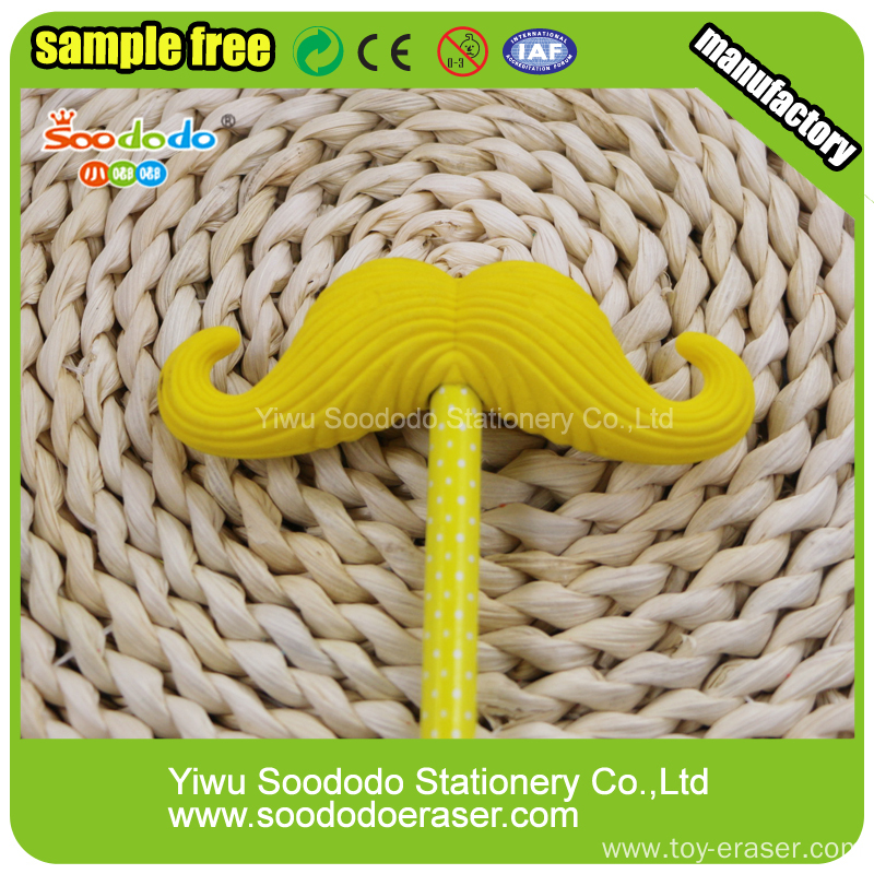 Beard Shaped Eraser,cute promotion gift eraser product