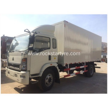 95 HP HOWO Light Van Truck