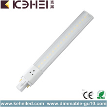 760lm G23 LED Tube Light 8W 30000h