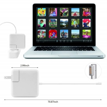 60w Power Adapter Macbook Magsafe 1 L Tip
