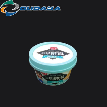 Customized Plastic Pot for Ice-cream Packaging