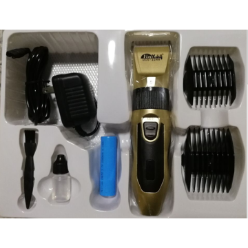 30W Professional Cordless Two Battery Hair Clipper