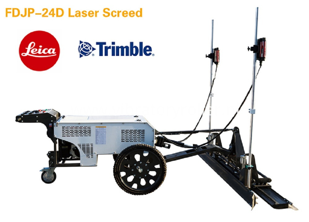 Mini Laser Screed