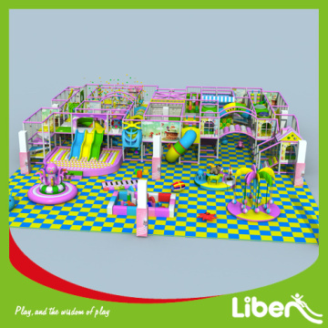 Indoor playground room park land
