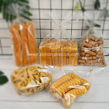 Transparent HDPE Plastic Bread Bags
