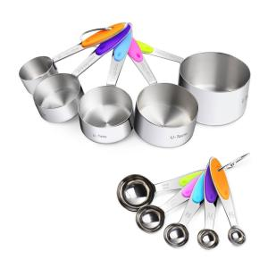 10 Piece Measuring Cups and Spoons