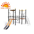 Stainless steel slides tall metal playground for wholesale