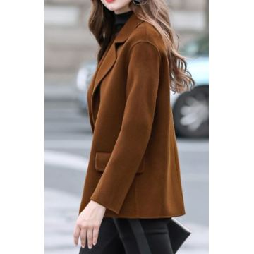 Women's 50% Wool 50% Cashmere Coat