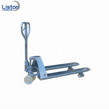 High Quality 2.5Ton Steel Pallet Truck Manual