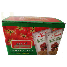 22-24% pouch tomato paste for Middle East