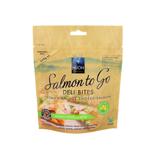 Somked Fish Salmon Packaging Bag