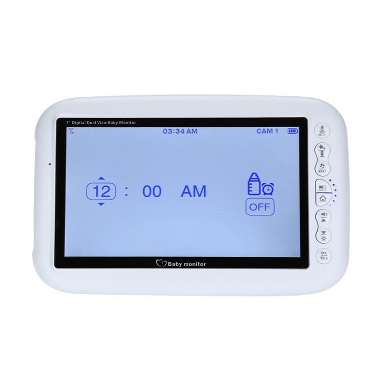 7 lcd wireless baby monitor